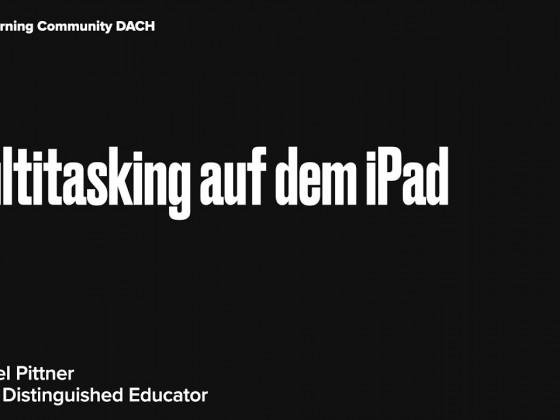 1.1.10Multitasking auf dem iPad